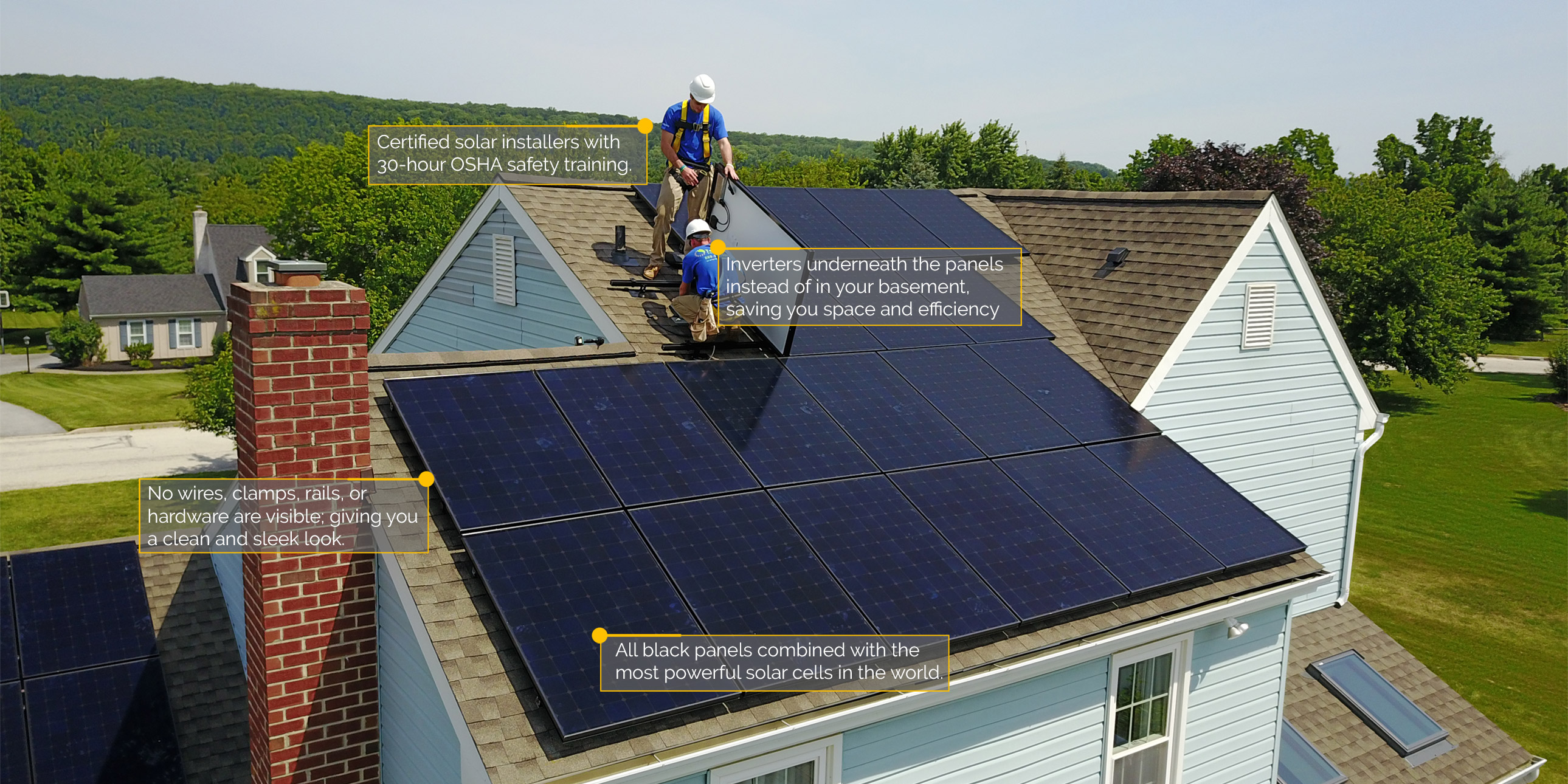 Residential Terrasol Energies Solar Panel Installation Wiring Freedom To Choose Power Save